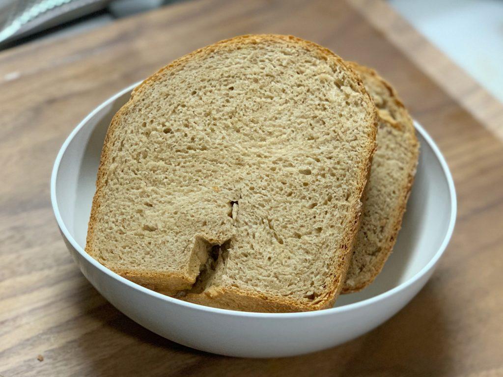 全粒粉パンのレシピ
